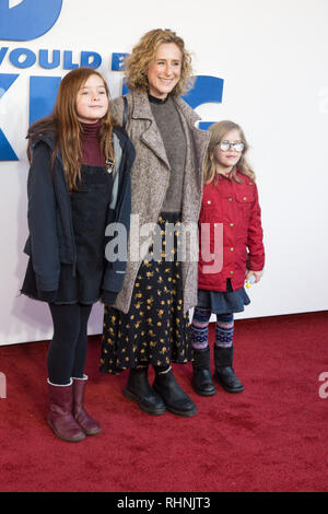 London, UK. 3rd February, 2019. The Kid Who Would Be King - Family Gala Screening at Odeon Luxe Leicester Square on 3rd February 2019 Credit: Tom Rose/Alamy Live News - Stock Photo