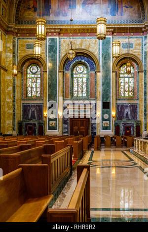 Cathedral of St. Matthew the Apostle, 1725 Rhode Island Ave NW, Washington DC - Stock Photo