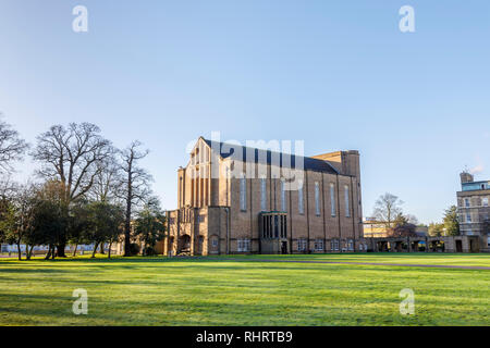 St Mary's University Chapel, St Mary's University, by Strawberry Hill House, a Gothic Revival villa built in Twickenham, London by Horace Walpole - Stock Photo