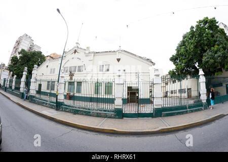 Caracas, Dtto Capital / Venezuela - 04-02-2012 : :Old buildings and houses in San Juan Neighborhood. - Stock Photo