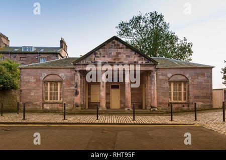 Guardhouse, Berwick upon Tweed, Northumberland, UK - Stock Photo