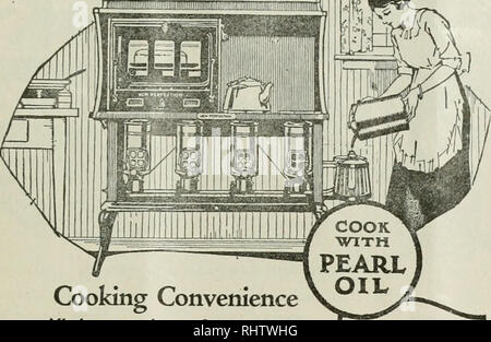 . Better fruit. Fruit-culture. 1918 BETTER FBHIT. Cooking Convenience All the convenience of gas — that is the meaning of a New Perfection Oil Cook Stove installed in your kitchen. Easy to operate. A touch of a match and in a jiffy your stove is ready for cooking. No smoke or smell; no dust or dirt. More convenient than coal or wood. Better and more economical cooking all the year round. A cool kitchen in summer. And you have all the convenience of gas. In 1, 2, 3 and 4 burner sizes, with or without ovens or cabinets. Ask your dealer today. STANDARD OIL COMPANY (California) NEW PERFECTION OIL  - Stock Photo