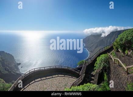Viewpoint Mirador de Isora - El Hierro, Canary Islands - Stock Photo