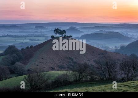 Colmers Hill, Symondsbury, Dorset, England, United Kingdom - Stock Photo