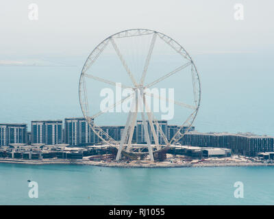 Ferris wheel in the city of Dubai. - Stock Photo