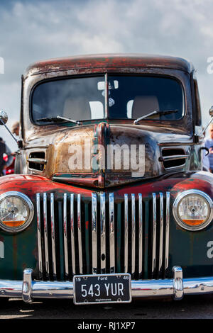 1946 Ford pick up truck at a car show. UK - Stock Photo