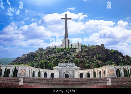 Valley of the Fallen in Madrid, Spain - Stock Photo