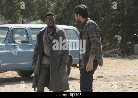 Michael Luwoye, Sean Teale, 'The Gifted' Season 2 (2019)  Credit: Fox Broadcasting Co. / The Hollywood Archive - Stock Photo