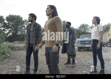Sean Teale, Blair Redford, Michael Luwoye, Jamie Chung, 'The Gifted' Season 2 (2019)  Credit: Fox Broadcasting Co. / The Hollywood Archive - Stock Photo
