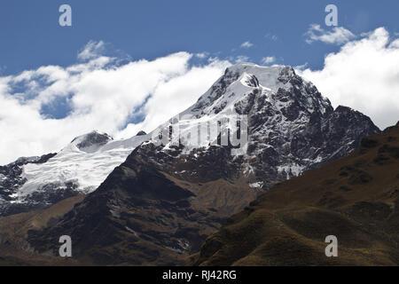 Bolivien, Cordillera Apolobamba, Kallawaya, Heiliger Berg, - Stock Photo