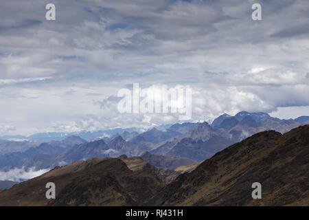 Bolivien, Cordillera Apolobamba, - Stock Photo