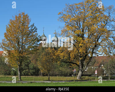 Deutschland, Oberbayern, Benediktbeuern, - Stock Photo