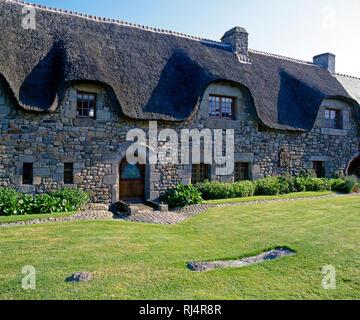 Bretonischer Adelshof 'Manoir Tiphanie' in La Larronniere, Bretagne, Frankreich, - Stock Photo