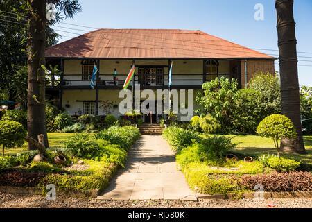 The historical Mandala house, Blantyre, Malawi