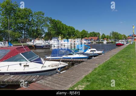 Bootshafen Timmel, Timmeler Meer, Gro?efehn, - Stock Photo