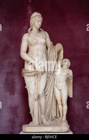 Europa, Italien, Latium, Rom, Vatikan, Venus und Armor (Vatikanische Museen) - Stock Photo