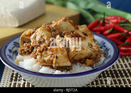 mapo tofu - Stock Photo
