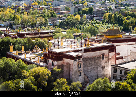 Tibet, Kora um Kloster Sera - Stock Photo