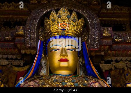 Tibet, Gyantse, das Kloster Pelkhor Choede - Stock Photo