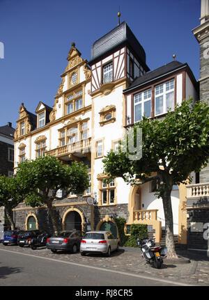Altes Haus, Gestade, Bernkastel-Kues, Rheinland-Pfalz, Deutschland - Stock Photo