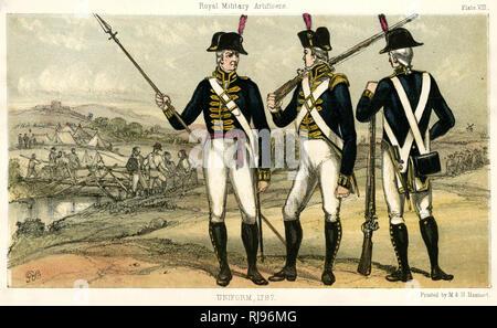Artificers in uniform - Stock Photo