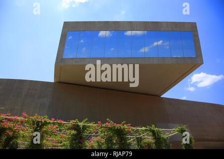 MAXXI, Museo nazionale delle arti del XXI secolo, national museum of 21st-century arts, a national museum of contemporary art and architecture in the  - Stock Photo