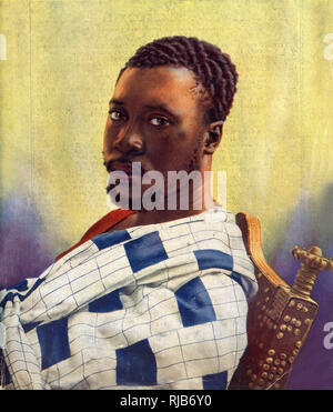King Prempeh I (1870-1931) of the Ashanti (Asante) Empire, West Africa, now part of Ghana. He ruled from 1888 until his death in 1931, and fought an Ashanti war against Britain in 1893. - Stock Photo