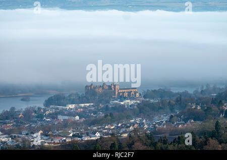 Linlithgow Palace, Linlithgow, West Lothian, Scotland. - Stock Photo