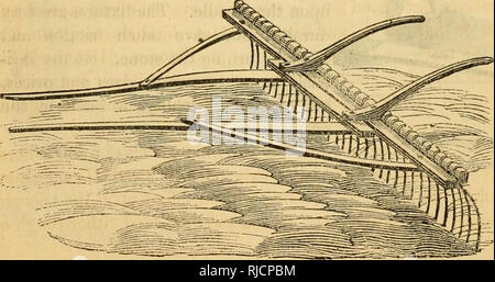 . Charles V. Mapes'. Agricultural machinery. Fig. 164. Wire Spring-Tooth Horse Eake.. Please note that these images are extracted from scanned page images that may have been digitally enhanced for readability - coloration and appearance of these illustrations may not perfectly resemble the original work.. Mapes, Charles Victor, 1836-1916. [from old catalog]. New York, M'Crea & Miller - Stock Photo