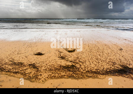 Fanore Beach, The Burren, Co Clare, Ireland - Stock Photo