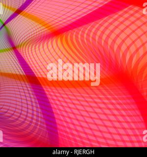 abstract stylized lines, vector - Stock Photo