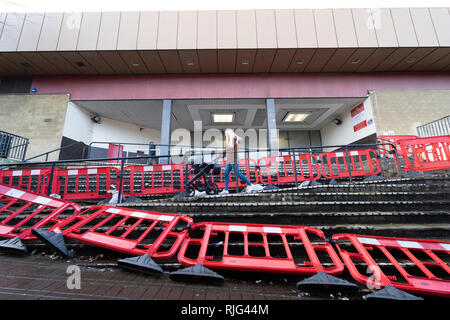 Kirkcaldy, Scotland, UK. 6 Feb 2019.  The Postings shopping centre in Kirkcaldy was sold at auction in London on 5 February, 2019 with a guide price of one pound. It was eventually sold for three hundred and ten thousand pounds. Credit: Iain Masterton/Alamy Live News - Stock Photo