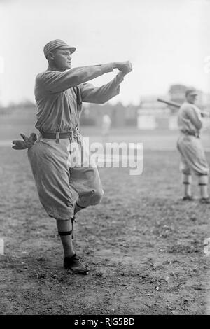 Amos Aaron Strunk,  Philadelphia Athletics, 1913. - Stock Photo