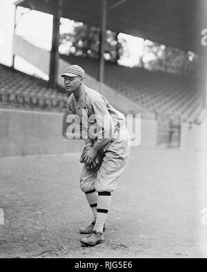 Amos Aaron Strunk,  Philadelphia Athletics, 1914. - Stock Photo