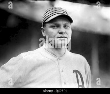 Amos Aaron Strunk,  Philadelphia Athletics, 1915. - Stock Photo