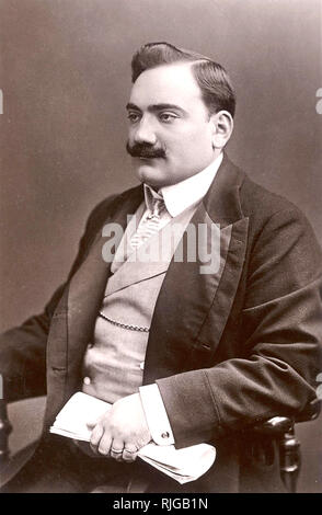 ENRICO CARUSO (1873-1921) Italian operatic tenor about 1905 - Stock Photo