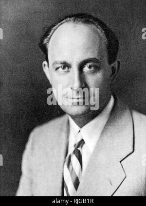 ENRICO FERMI (1901-1954) Italian-American physicist - Stock Photo