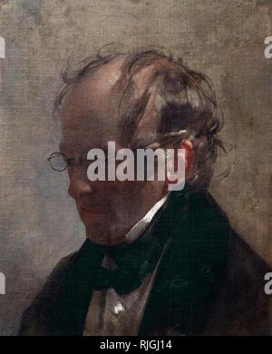 Friedrich von Amerling (1803-1887), Portrait of Carl Christian Vogel von Vogelstein (1788-1868), 1837. Alte Nationalgalerie, Berlin, Germany.