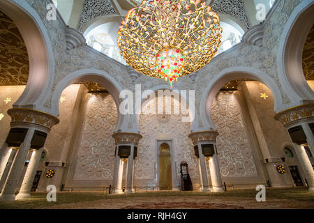 DUBAI, UNITED ARAB EMIRATES - October, 2018: Jumeirah Mosque is the only mosque in Dubai open to public. - Stock Photo
