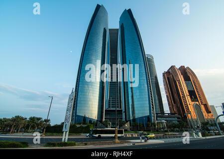 DUBAI, UNITED ARAB EMIRATES - October, 2018: Urban landscape in Modern Dubai. UAE. - Stock Photo