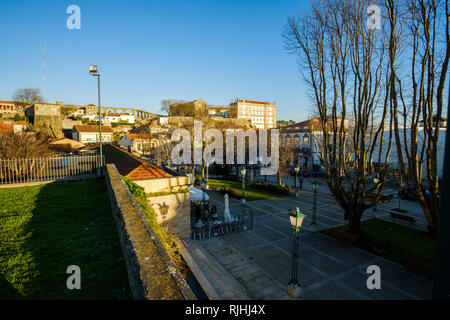 Vila do Conde, Portugal - January 03, 2019 : downtown Vila do Conde, Porto District, Portugal - Stock Photo