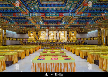 The Po Lin Monastery on Lantau Island, Hong Kong, China, Asia. - Stock Photo