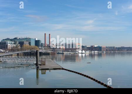 Capitol Riverfront - Washington, DC USA - Stock Photo