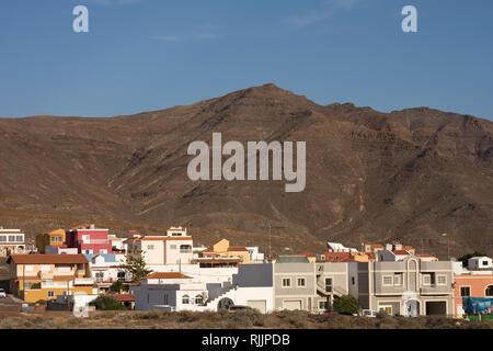 Location Las Playitas, Las Playitas, Fuerteventura, Canary Islands, Spain, Europe - Stock Photo