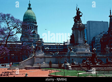 Argentine National Congress,Buenos Aires - Stock Photo