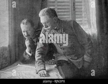 Conrad von Hotzendorf (1852-1925), Chief of staff, Austro-Hungarian army. World War One 1915 - Stock Photo