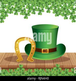 Saint patricks day cartoons - Stock Photo