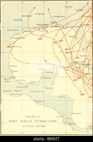. The Bahama Islands. Scientific expeditions. GEOGRAPHICAL SOCIETY OF BALTIMORE. Please note that these images are extracted from scanned page images that may have been digitally enhanced for readability - coloration and appearance of these illustrations may not perfectly resemble the original work.. Shattuck, George Burbank, 1869-1934, [from old catalog] ed. New York, London, The Macmillan company - Stock Photo