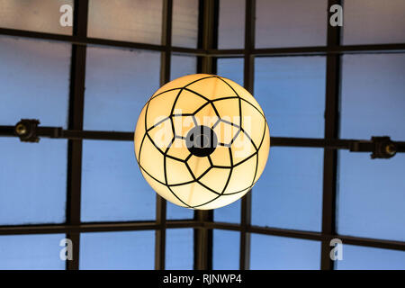 Glasgow Building Roof and Light - Stock Photo