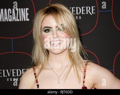 Los Angeles, USA. 07th Feb, 2019. Kiiara attends the Warner Music Pre-Grammy Party at the NoMad Hotel on February 7, 2019 in Los Angeles, California. Photo: CraSH/imageSPACE Credit: Imagespace/Alamy Live News - Stock Photo